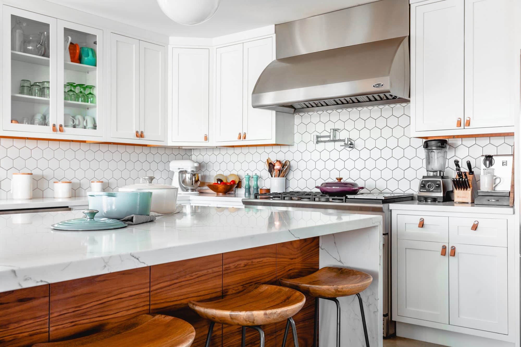 A clean kitchen from a home purchased with a VA Home Loan